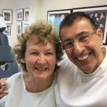 Shirley a patien at Cliffs Chiropractor Southend
