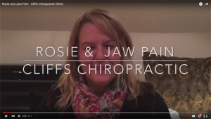 rosie and jaw pain