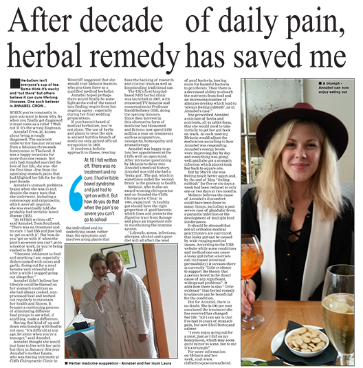 After A Decade of Daily Pain Herbal Remedy Saved Me