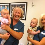 treating babies at cliffs chiropractor southend