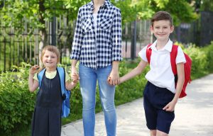 Swap the school car run for a walk to school