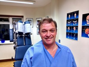 Patient treated at Cliffs Chiropractor Southend