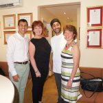 Chamber of Commerce visit to cliffs chiropractor southend
