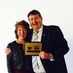 CMAM Award presented to Melanie at Cliffs Chiropractor Southend
