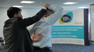 BAck to Business campaign at Cliffs Chiropractor Southend