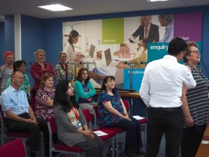 Our Back to Business workshops are proving to be effective