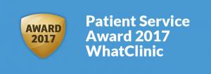 patient service award 2017