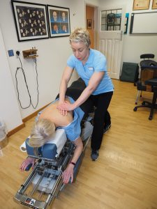 massage at cliffs chiropractor southend