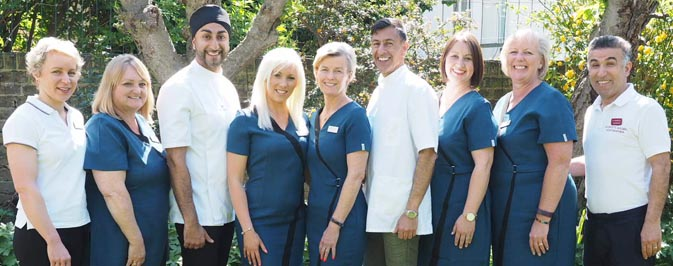 Cliffs Chiropractic Clinic Team Photo